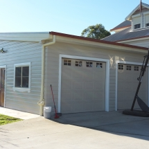 Carport Turned into Garage