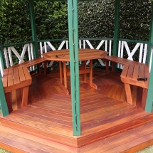 Outdoor Entertainment Area Gazeebo